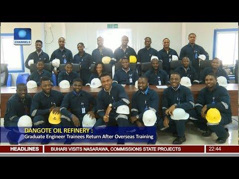 Dangote Oil Refinery: Graduate Engineer Trainees Return After Overseas Training
