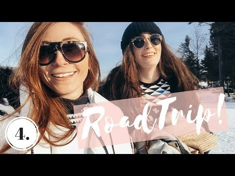 COME WITH US SKIING + MY SECRET FOR SHINY HAIR | Vlog 4