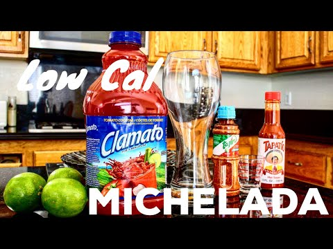 MICHELADA  Healthy Skinny Low Cal Version!
