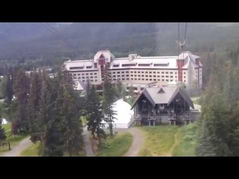 SUSPENDIDO EN EL AIRE |Teleférico Cosas que Hacer Alaska