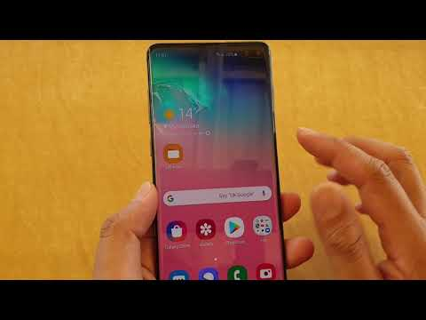Samsung Galaxy S10 / S9 / How To Disable Text Message Popup