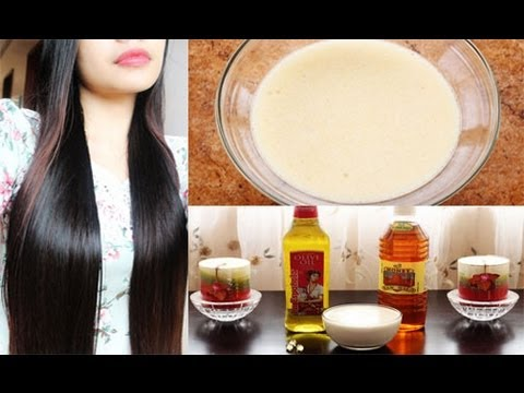Diy Hair Mask For Frizzy Dry And Damage Hair And Hair Growth Youtube