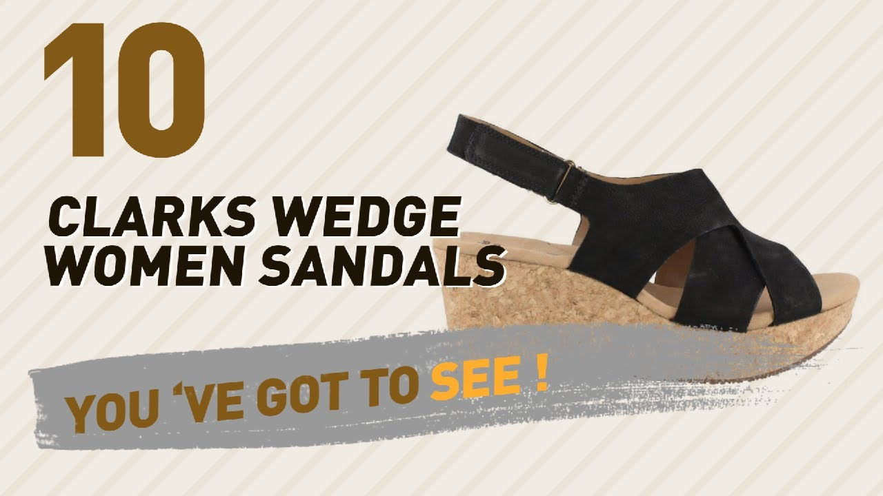 c343dab8b2a2 Clarks Wedge Women Sandals    New   Popular 2017 - YouTube