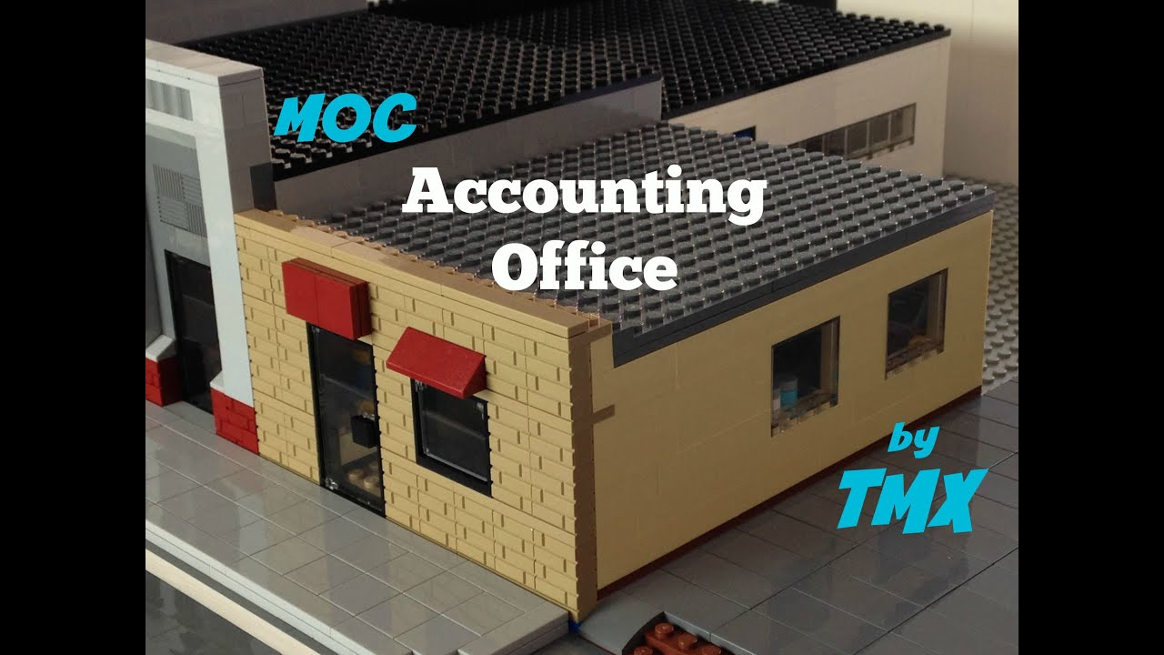 LEGO MOC: Accounting Office For My LEGO City   YouTube