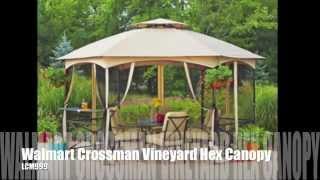 Lcm999 Walmart Crossman Vineyard Hexagon Gazebo