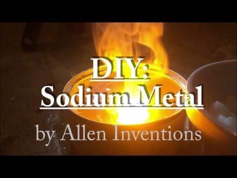 DIY: Sodium Metal