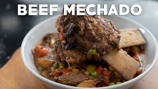 Beef Mechado (Braised Beef and Tomato Stew) — Filipino Recipes
