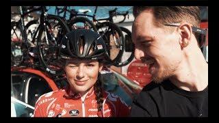 Amstel Gold Race with Puck Moonen, Ellen van Dijk, Floortje Mackaij and Lucinda Brand