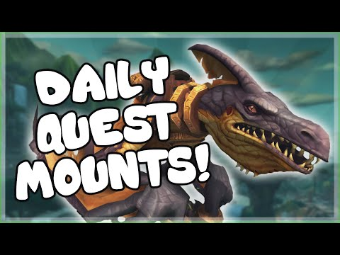 Mounts You Can Work Towards Via Daily Quests In World Of Warcraft