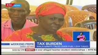 Raila Odinga calling for National Dialogue over Kenya's debt burden