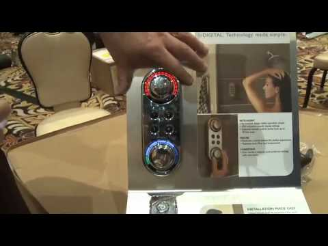 Charmant CES 2010 Video   Moen Unveils A Digital Shower Control