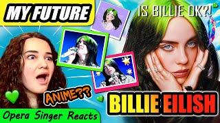 Download Lagu Opera Singer Reacts to Billie Eilish - my future mp3