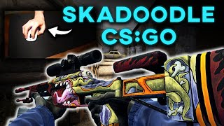 SKADOODLE ON COUNTER-STRIKE (WITH HANDCAM) | CS:GO Highlights