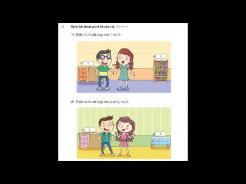 Bài nghe tiếng Hàn tổng hợp- Bài 2