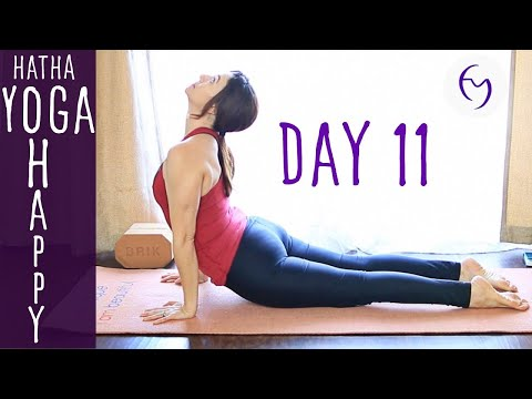 Day 11 Hatha Yoga Happiness: 4 locks and 4 keys