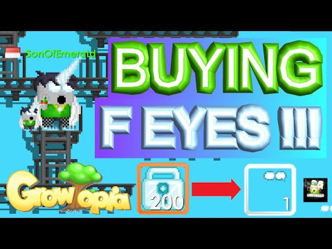 FINALLY BUYING FOCUSED EYES !!! NO CLICKBAIT !!!   Growtopia