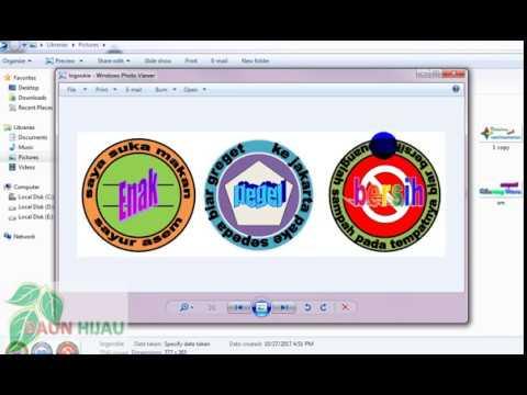 Membuat Logo Text Dan Tipenya Dengan M Word Youtube
