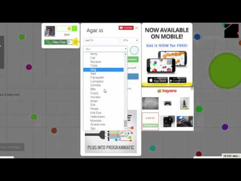 I6#I How to hack AGAR.IO (ALL SKINS,Bots,CHAT....)