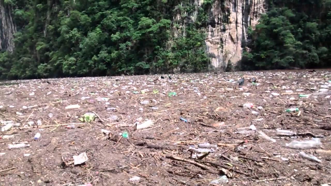 La contaminacin del Can del Sumidero Chiapas  YouTube