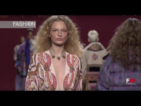 ETRO Milan Fashion Week Womenswear Autumn Winter 2017 2018 – Fashion Channel