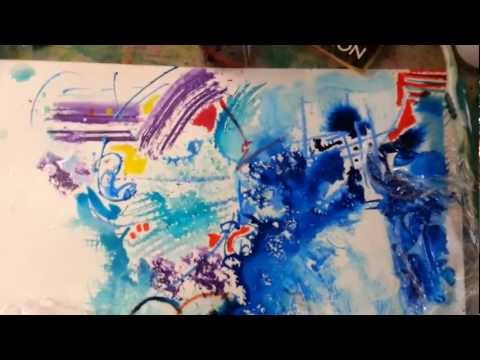 Abstract painting techniques [3] by Dianne Kelly