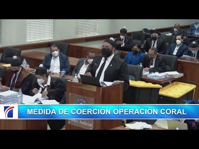 #ENVIVO Medida de coerción Operación Coral
