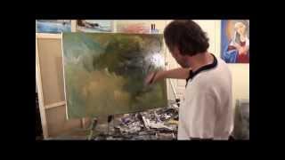 Видеоурок И.Сахарова Картина Маслом Учимся рисовать