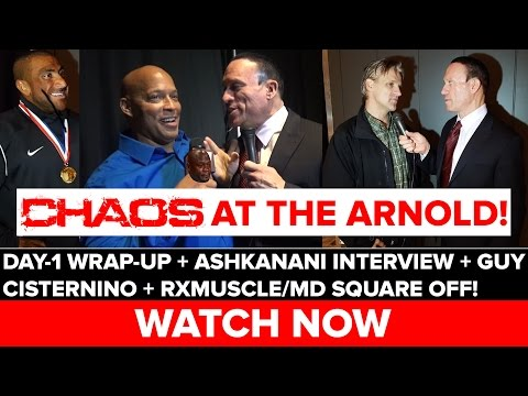 MD Sabotage Leads to Backstage Confrontation at the Arnold Classic (Day 1 Wrap-up)