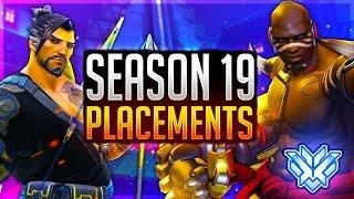 🔴Overwatch Season 19 FULL PLACEMENT MATCHES! Rank #1 NA Peak Samito Overwatch Pro