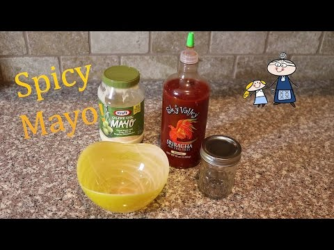 how-to-make-spicy-mayo!-~-hot-and-spicy-mayonnaise-recipe-~-great-for-hamburgers-chicken-or-sushi