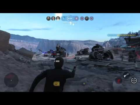 Epic Hero Kills (w/ final cool explosions) (Star Wars Battlefront 2015)