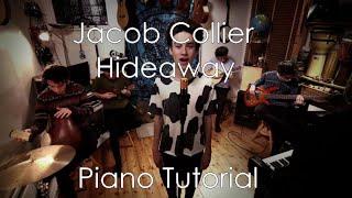 Hideaway - Jacob Collier | Piano Tutorial