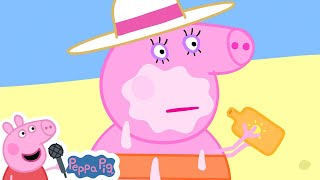 Peppa Pig Official Channel | Peppa Pig's Last Summer Holiday Beach Trip