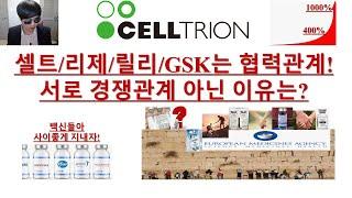 [주식투자]셀트리온(셀트리온/리제네론/릴리/GSK는 협…