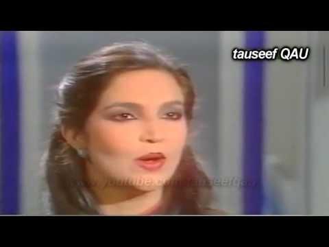 Malika Pukhraj Tahira Sayed  LIVE PTV- Koonjaan jaii paiyaN(PAHARI SONG)