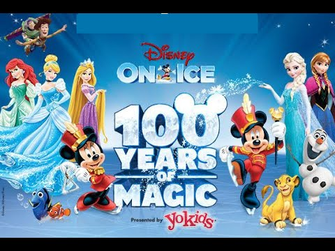 2015 Disney On Ice Frozen & More Highlights 100 Years of Magic Show