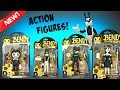 Bendy Action Figures! Unboxing & Toy Review, Animation