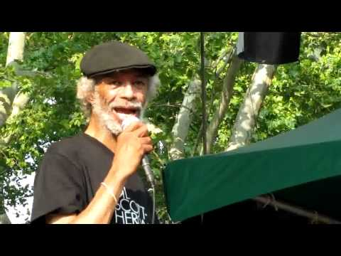 Gil Scott-Heron, I'll Take Care Of You, Central Park Summerstage, NYC 6-27-10 (HD)