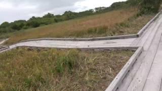 9/28利尻礼文サロベツ国立公園の観光サロベツ湿原を歩きました(作られた決められた道ね)