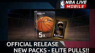 NEW PACKS - ELITE PULL - OFFICIAL WORLD RELEASE - NBA Live Mobile