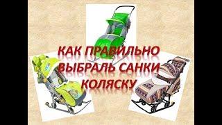 как выбрать санки-коляску