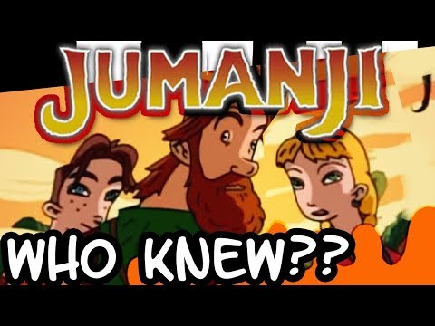 JUMANJI had an ANIMATED SERIES?! - Ferocious Fridays