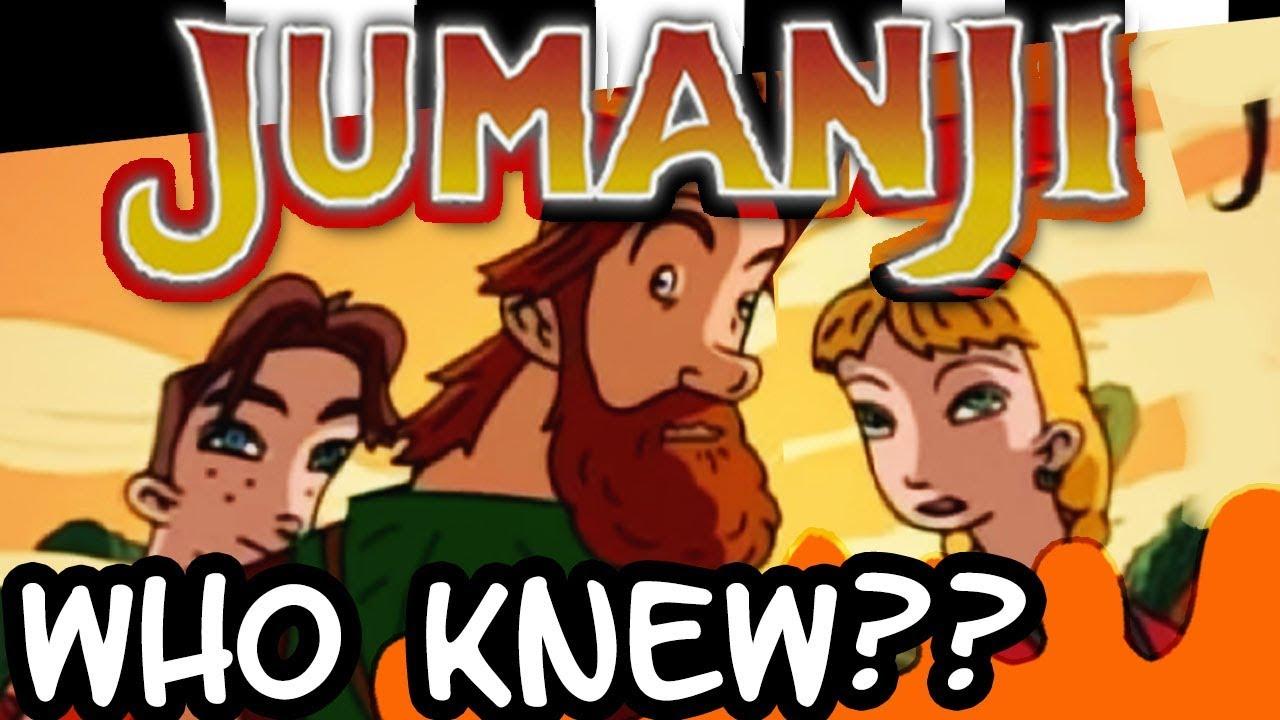 jumanji had an animated series jumanji the animated series 1996