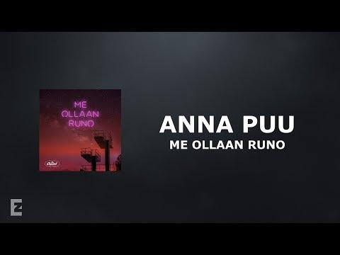 Anna Puu - Me Ollaan Runo