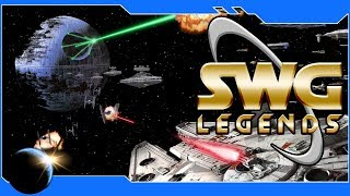 SWG Legends: Jump to Lightspeed - Xwing Rebel Pilot in Star Wars Galaxies!