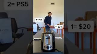 money-toaster-challenge-2-shorts