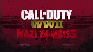 """Call Of Duty: WWII- """"Nazi Zombies"""" ALL TRAILERS"""