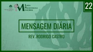Mensagem diária - Deuteronômio 6:10-15