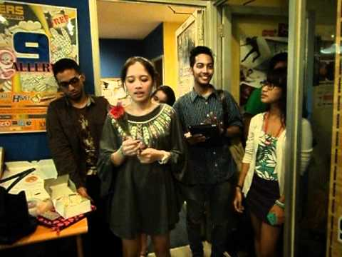 GAC troops early birthday surprise for Abigail Cantika