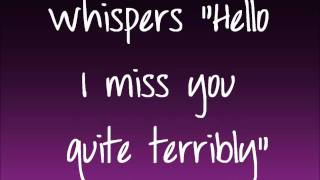 Here (In Your Arms) - Hellogoodbye Lyrics